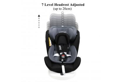 Lettas Murphy 916 Car Seat 360° Rotatable/ISOFIX