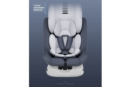 Happy Prince Group 0+/1/2/3 Car Seat for Ages 0-12Y